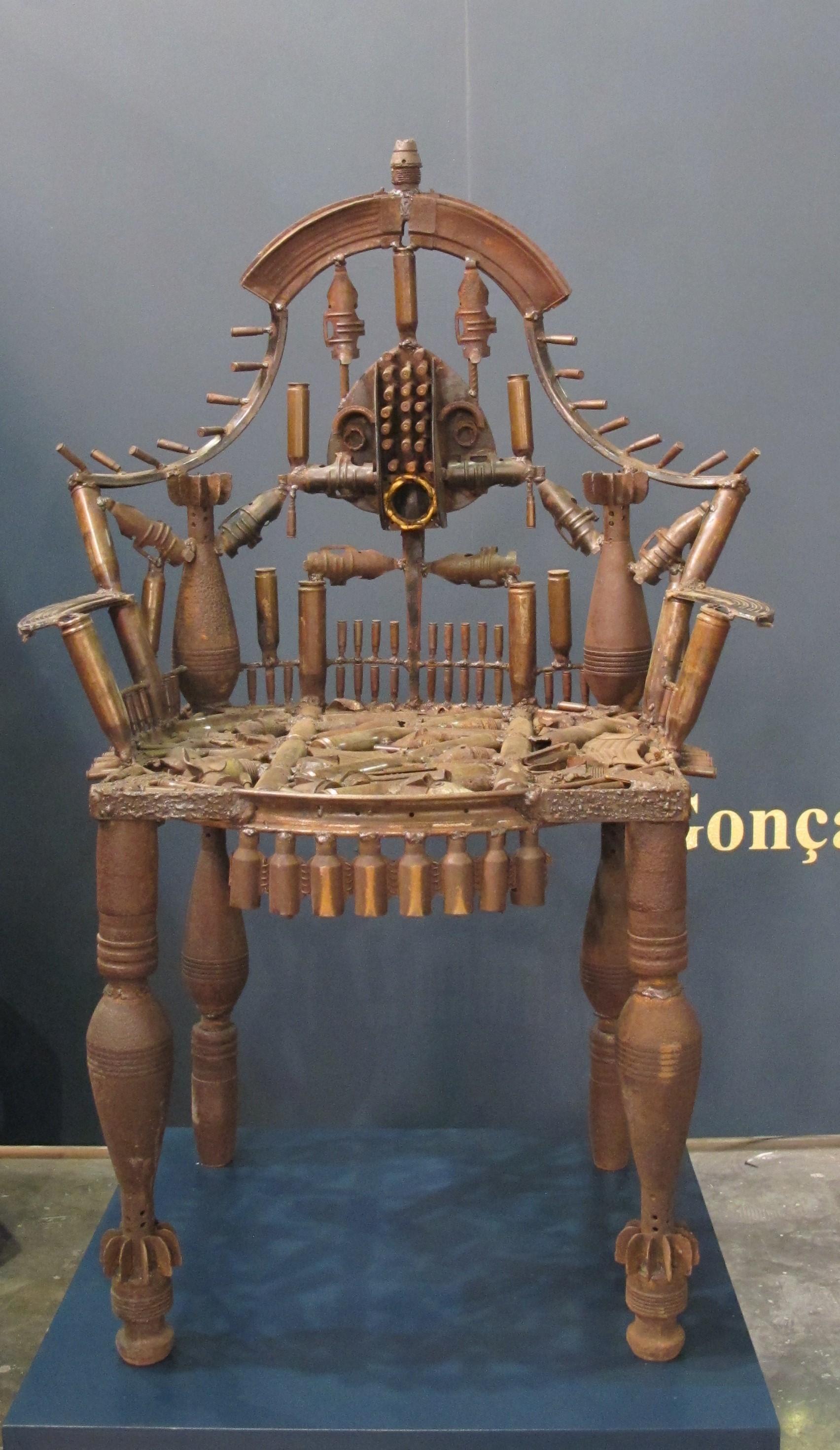 Goncalo Mabunda Untitled Throne 1