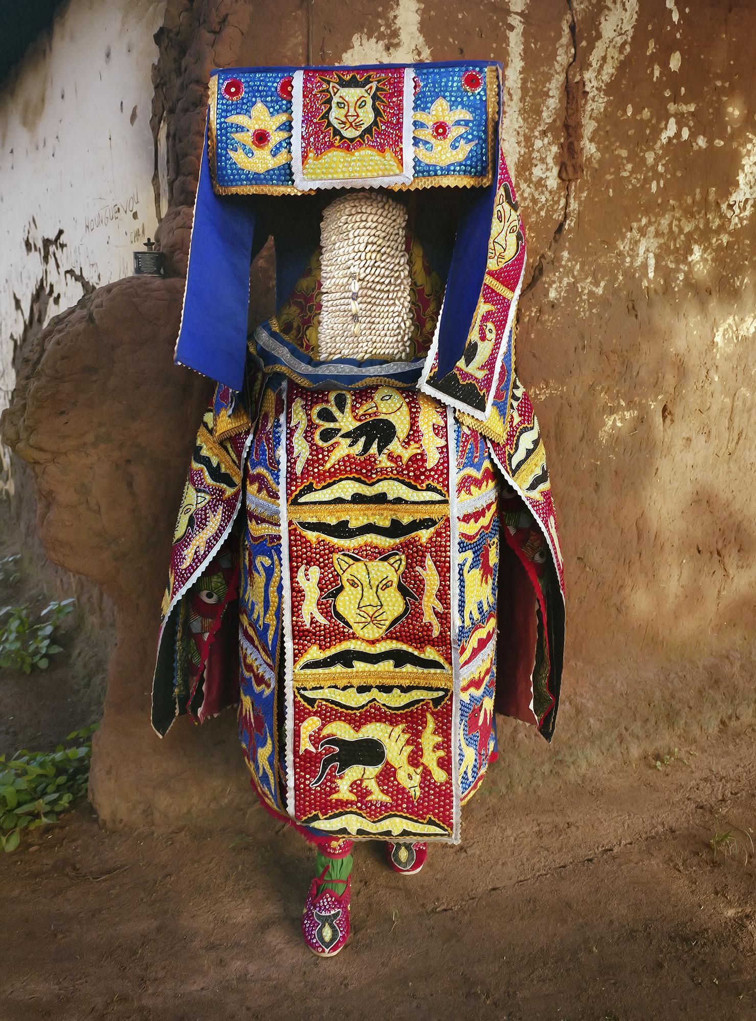 Leonce Raphael Agbodjelou_Egungun Masquerade XI_2015_Pigment Ink on HP Premium Satin Photographic Paper_148 x 110 cm
